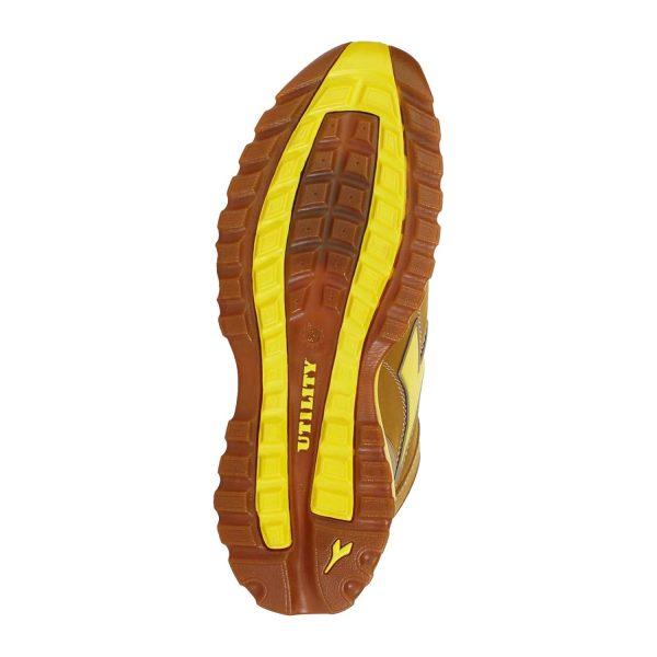 Calzado de seguridad Diadora Glove Mid Negro S3 HRO SRA Unisex