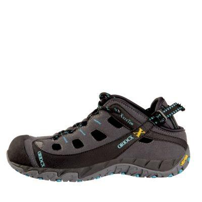 Sandalia de trekking Oriocx Herce Gris Turquesa