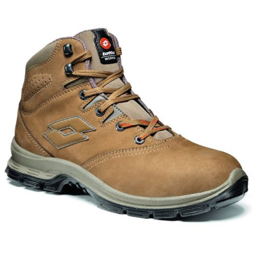 Calzado de seguridad Lotto Sprint 901 Mid Marron