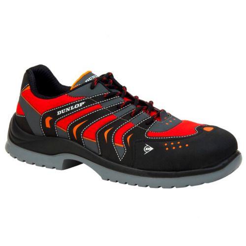 De Calzado Racer Sport S1p Seguridad Zapato Red Dunlop Cgq84xwO