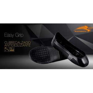 Cubrecalzado Easy Grip negro