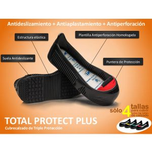 Cubrecalzado Total Protect plus