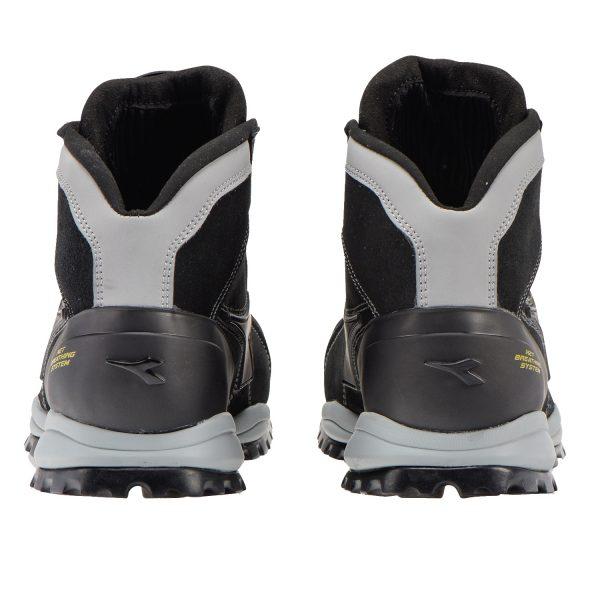 Calzado de seguridad Diadora Glove Net Mid PRO S3 SRA HRO ESD Black Unisex