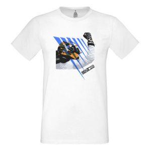 Camiseta Sparco 01218BI