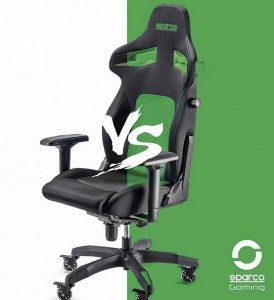 Asiento gaming Sparco verde