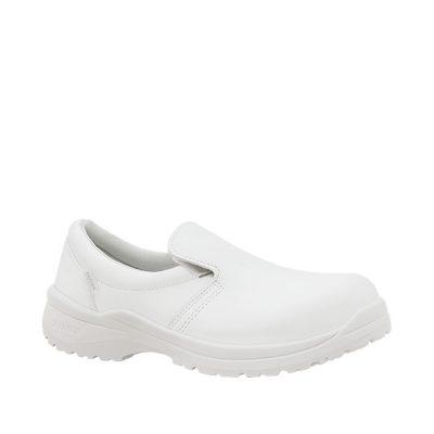 Calzado de seguridad Panter Zagros O2 / S2 Blanco Unisex