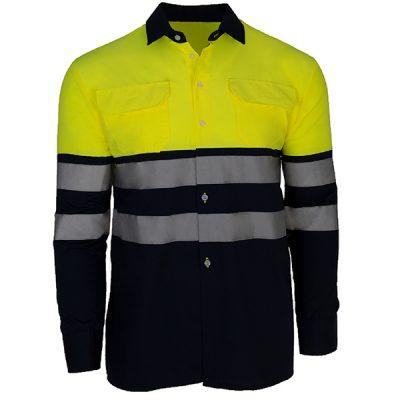 Camisa de manga larga de alta visibilidad Prima City2 Plus