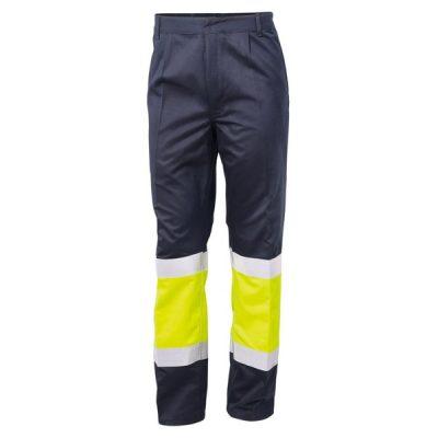 Pantalón ignífugo antiestático de alta visibilidad - Serie 8448