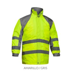 A-pro Impermeable Chaqueta impermeable Trajes de pantalones alta visibilidad Fluo S