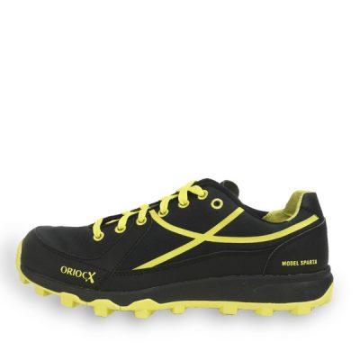 Calzado de trail running Oriocx Sparta Negro