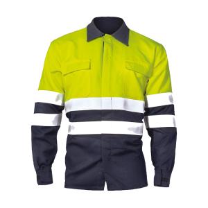 camisa ignifugo marino SERIE 11836 alta visibilidad