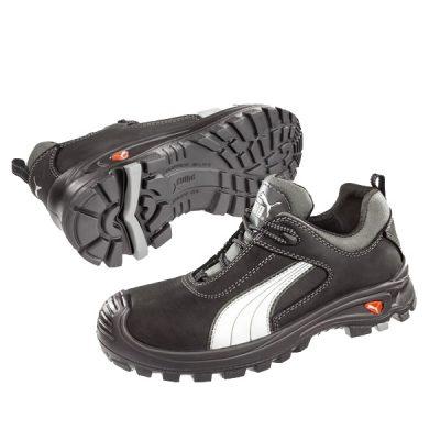 Calzado de seguridad Puma Rigger Boot Black S3 WR CI HRO SRC Unisex