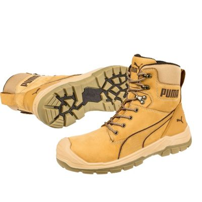 Calzado de seguridad Puma Conquest Wheat High S3 HRO SRC