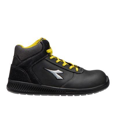 Calzado de seguridad Diadora Formula Mid Negro S3 SRC ESD Unisex