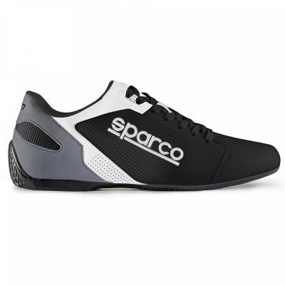 Zapatilla deportiva Sparco Sport Line SL-17 Blanco y Negro