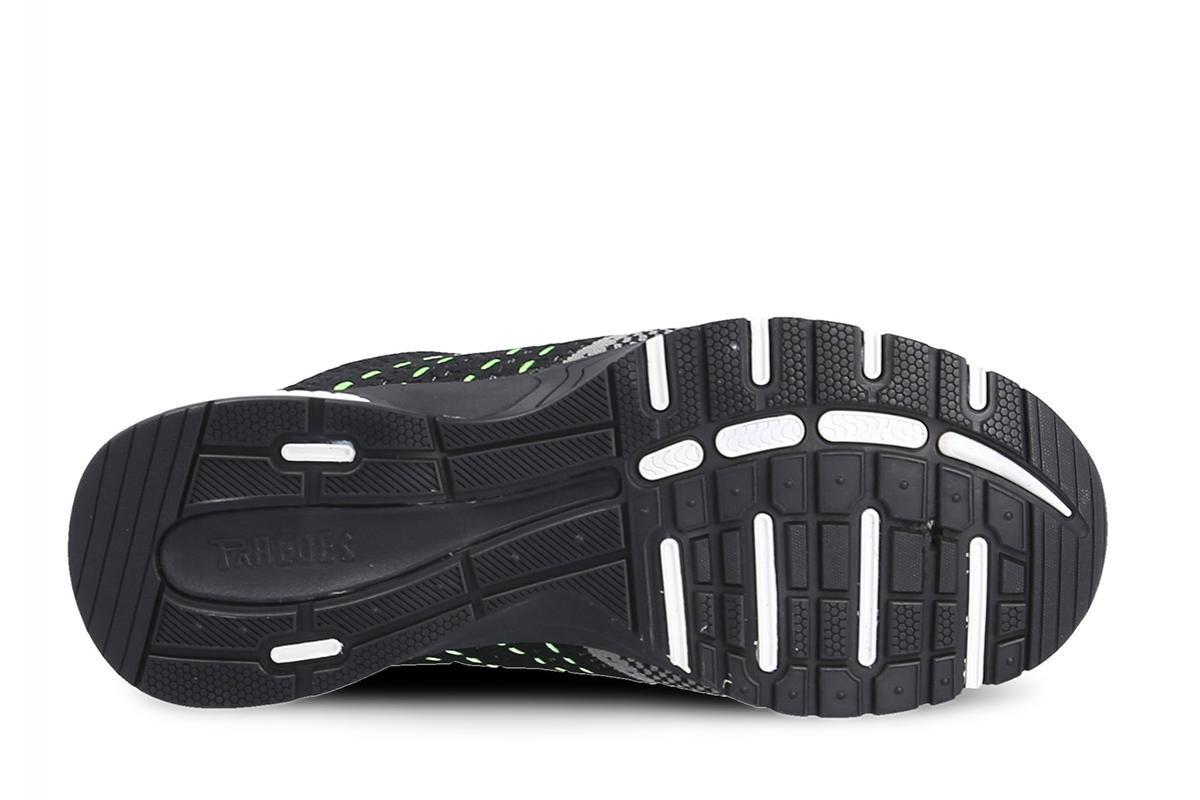 negro//gris zapatillas de seguridad deportivas Paredes Suzuka S1P SRC
