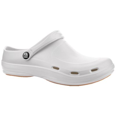 Zueco Dunlop Fitclog Basic 001 Blanco