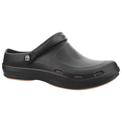 Zueco Dunlop Fitclog Basic 001 Negro