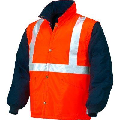 Chaleco acolchado de alta visibilidad Starter naranja