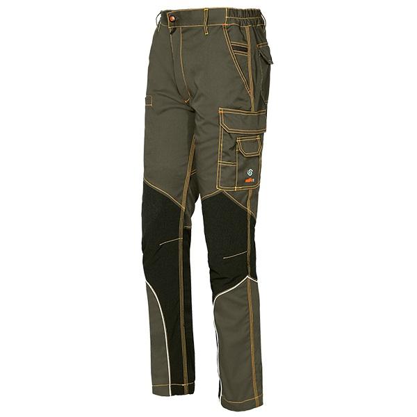 Pantalón de trabajo  Starter Issa Stretch Extreme fango