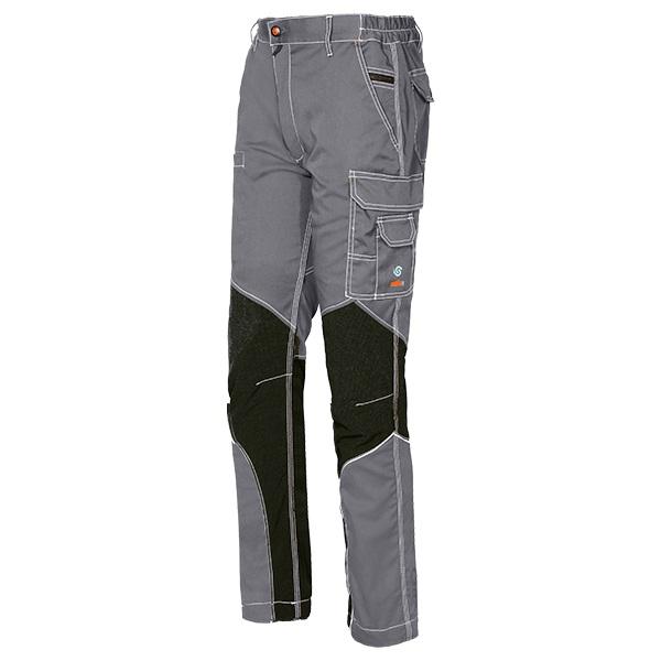 Pantalón de trabajo  Starter Issa Stretch Extreme gris