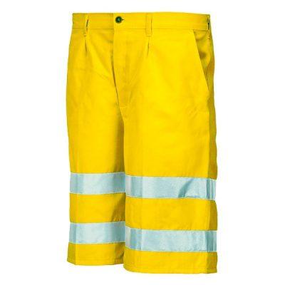 Bermuda alta visibilidad  Starter amarillo