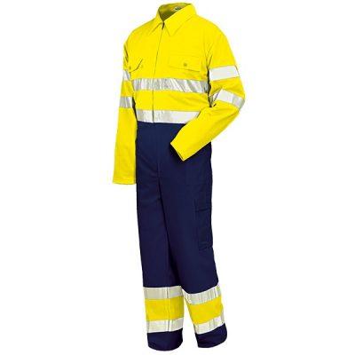 Buzo alta visibilidad Starter amarillo-azul