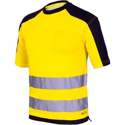 Camiseta AV bicolor Starter amarillo-azul