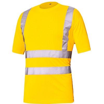 Camiseta básica AV Starter  amarillo