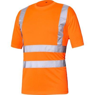 Camiseta básica AV Starter naranja