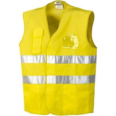 Chaleco con bolsillos Starter  AV amarillo