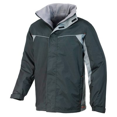 Chaqueta impermeable Starter Crosby negro