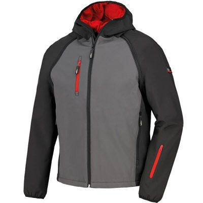 Chaqueta impermeable y traspirable Starter Sly gris-negro