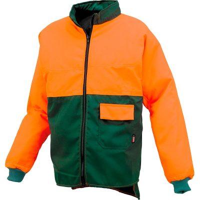 Chaqueta leñador Starter verde-naranja