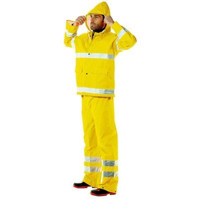 Conjunto impermeable  AV Starter amarillo