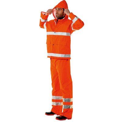 Conjunto impermeable  AV Starter naranja