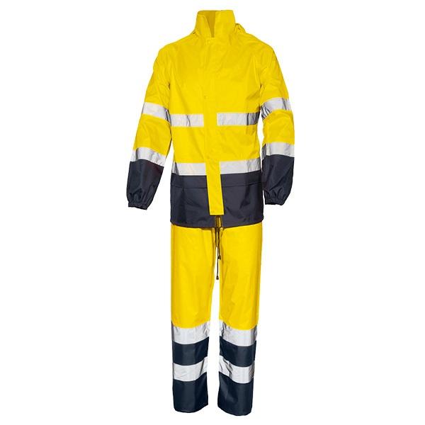 Conjunto impermeable AV bicolor Starter  Glaire  amarillo