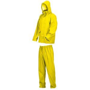 Conjunto impermeable de poliéster Starter amarillo
