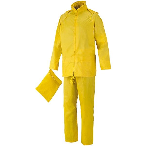 Conjunto impermeable starter amarillo