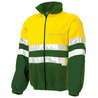 Forro polar AV Starter amarillo-verde