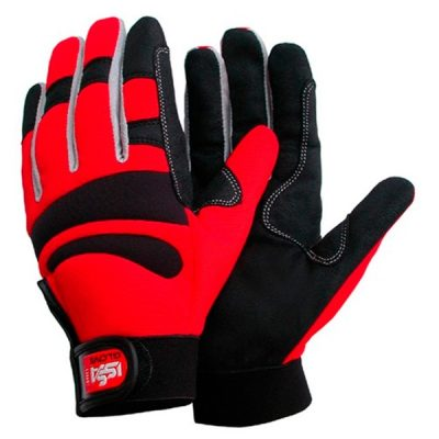 Guante Starter Long Comfort rojo-negro