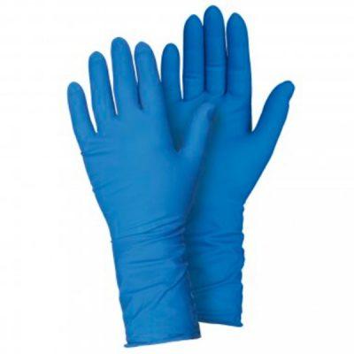 Guante de látex en goma natural Starter azul