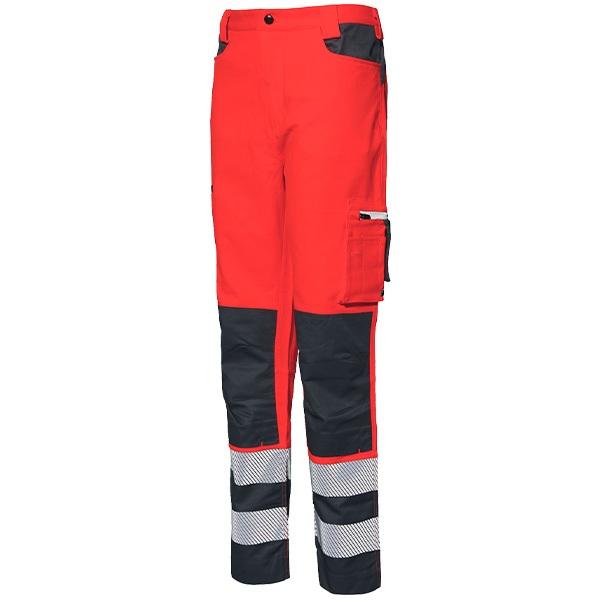 Pantalon AV Starter Stretch rojo-gris