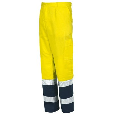 Pantalón AV Starter amarillo-azul
