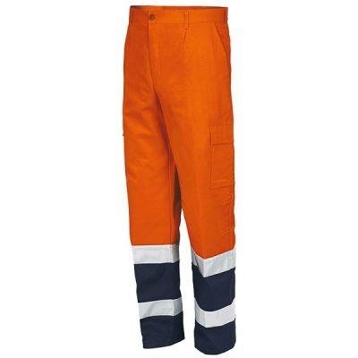 Pantalón AV Starter naranja-azul
