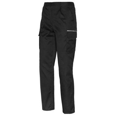 Pantalon Starter Euromix negro de poliéster y algodón.