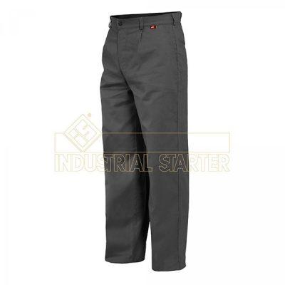 Pantalón de trabajo Starter Europa gris algodón.