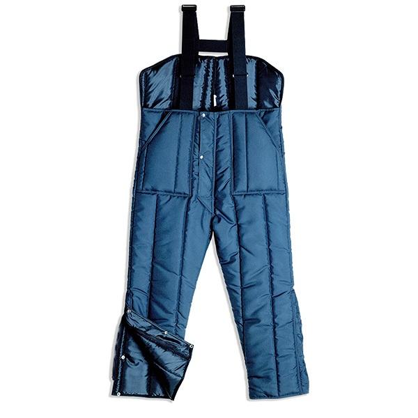 Pantalón de trabajo  con peto isotérmico Starter azul