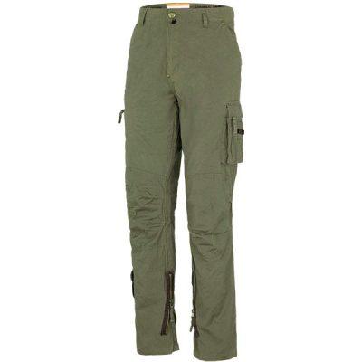 Pantalón de trabajo multibolsillos Starter Raptor verde