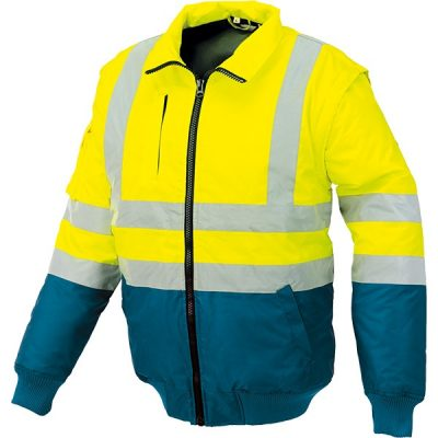 Pilot alta visibilidad bicolor Starter amarillo-azul